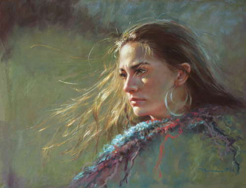 Pastel Portrait by Christine Swann